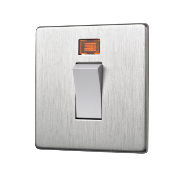 Penthouse 45 AMP Cooker Switch in Satin Nickel