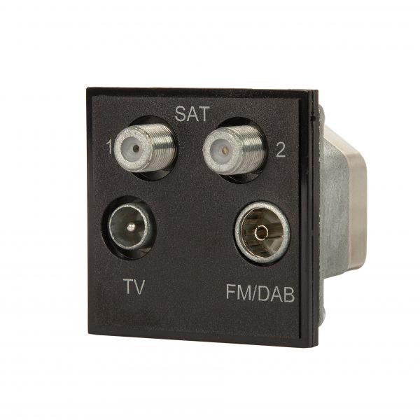 Black Quad TV, Satellite and Radio Module