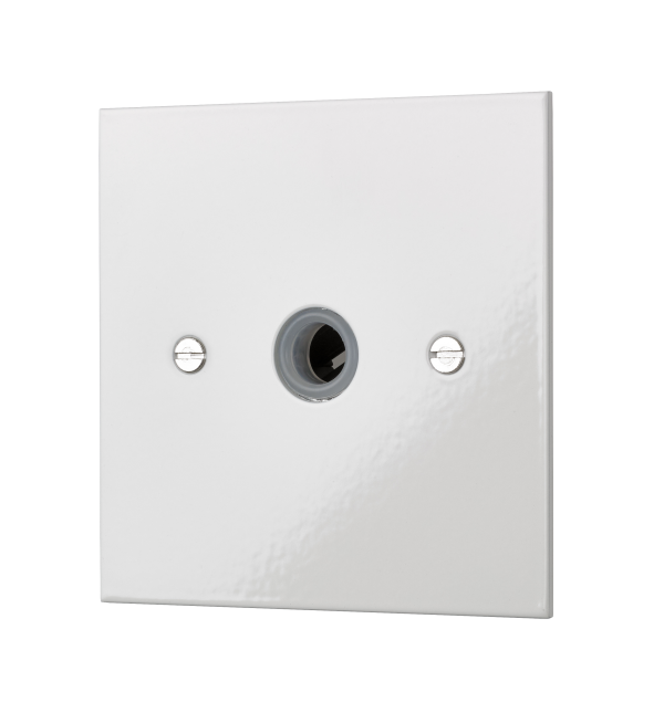 Our square-edged cable outlet unit