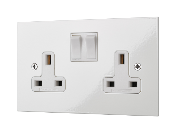 Square Edged Classic Socket Design