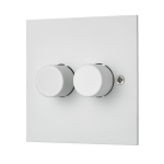 Classic dual dimmer switch