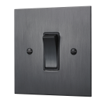 Our square-edged single rocker switch