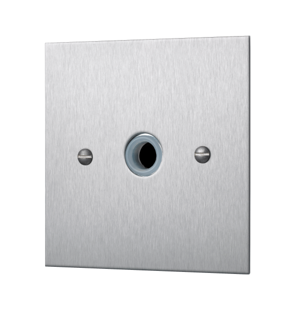 Our Square-Edged Single Cable Outlet Unit