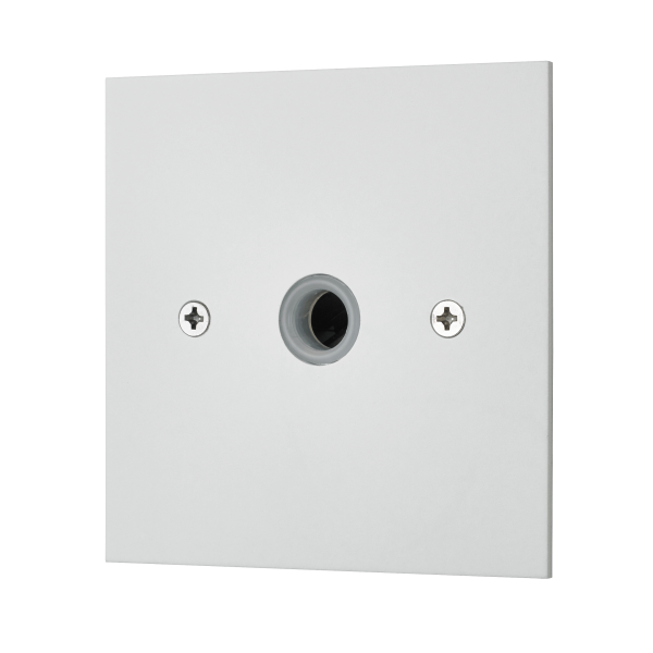 Classic square edge cable unit in white etched prime