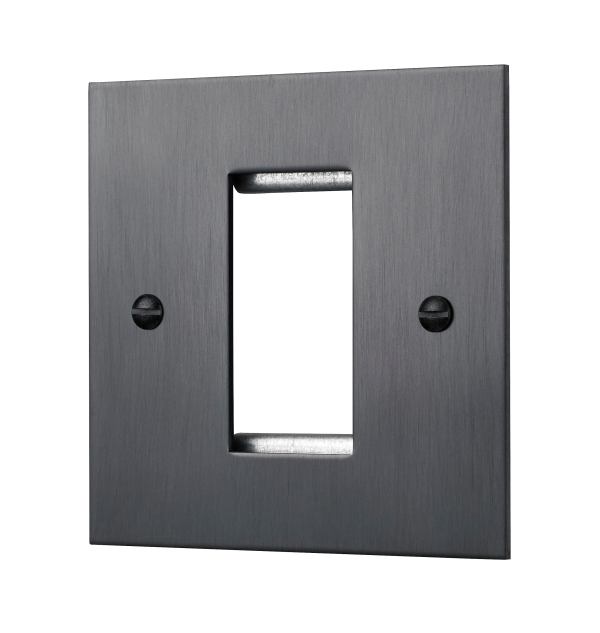 Our Square-Edged Single Euromod Plate