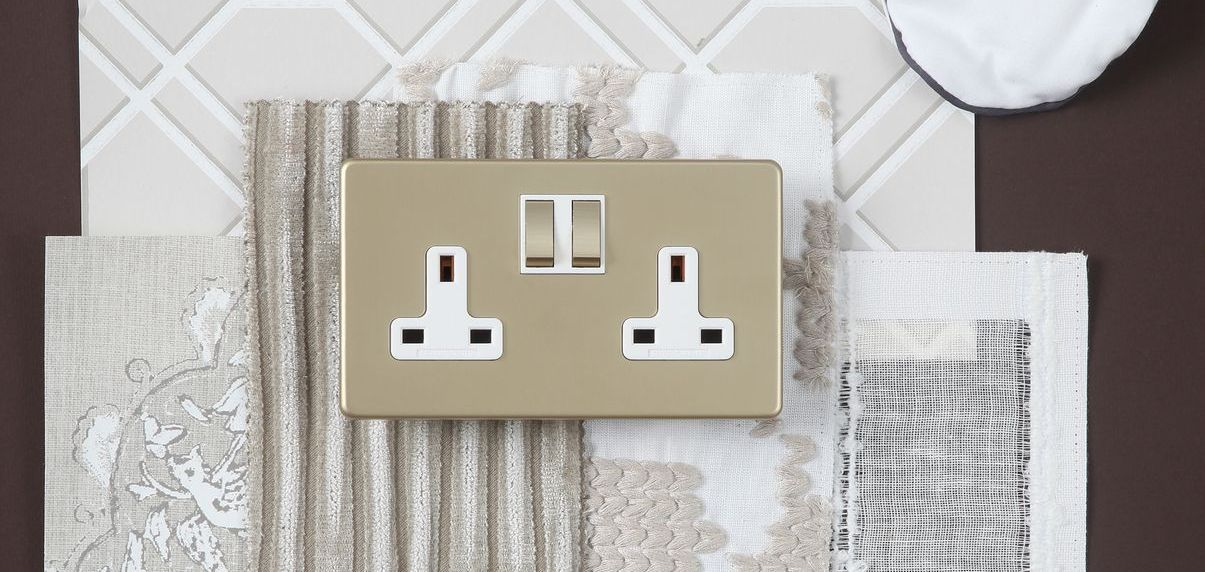 Smoked Brass Infinity twin switched socket (1) (1)